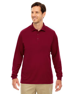 Classic Red 850 Men's Pinnacle Performance Long-Sleeve Piqué Polo