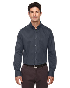 Carbon 456 Men's Operate Long-Sleeve Twill Shirt
