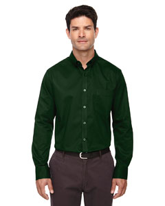 Forest Gren 630 Men's Operate Long-Sleeve Twill Shirt