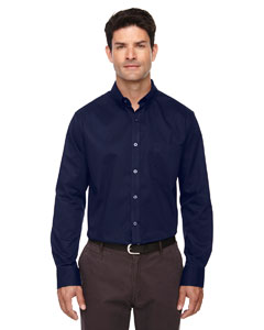 Classic Navy 849 Men's Operate Long-Sleeve Twill Shirt