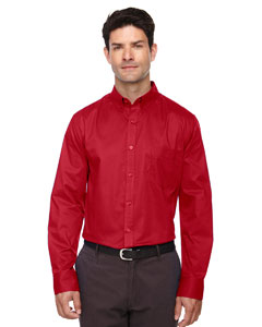 Classic Red 850 Men's Operate Long-Sleeve Twill Shirt