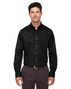 Black 703 Men's Tall Operate Long-Sleeve Twill Shirt