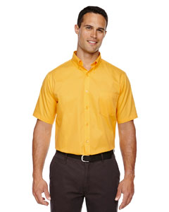 Campus Gold 444 Men's Optimum Short-Sleeve Twill Shirt