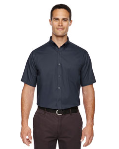 Carbon 456 Men's Optimum Short-Sleeve Twill Shirt