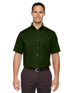 Forest Gren 630 Men's Optimum Short-Sleeve Twill Shirt