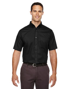 Black 703 Men's Optimum Short-Sleeve Twill Shirt