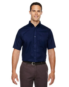 Classic Navy 849 Men's Optimum Short-Sleeve Twill Shirt