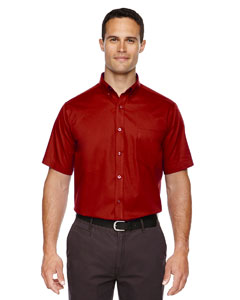 Classic Red 850 Men's Optimum Short-Sleeve Twill Shirt