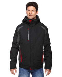 Blk/cl Red 874 Men's Height 3-in-1 Jacket with Insulated Liner