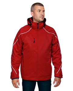 Classic Red 850 Men's Angle 3-in-1 Jacket with Bonded Fleece Liner