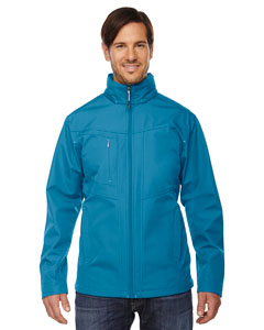 Blue Ash 488 Men's Forecast Three-Layer Light Bonded Travel Soft Shell Jacket