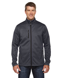 Carbon 456 Men's Trace Printed Fleece Jacket