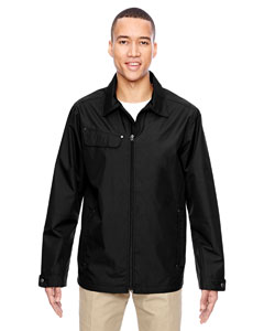 Black 703 Men's Excursion Ambassador Lightweight Jacket with Fold Down Collar