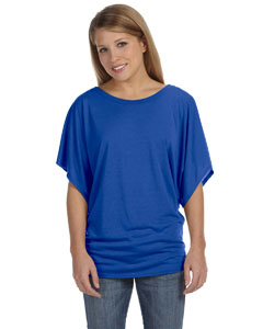 True Royal Ladies'  Flowy Draped Sleeve Dolman T-Shirt