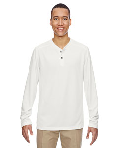 Cryst Qrtz 695 Men's Excursion Nomad Performance Waffle Henley