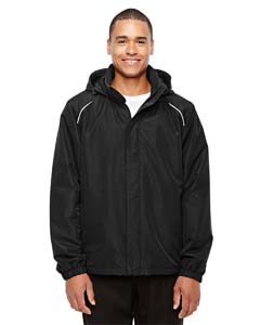 Black 703 Men's Profile Fleece-Lined All-Season Jacket