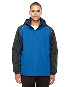 Tr Roy/ Crbn 438 Men's Inspire Colorblock All-Season Jacket