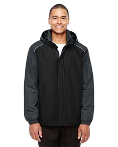 Blck/ Carbon 703 Men's Inspire Colorblock All-Season Jacket