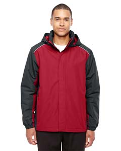 Cl Red/ Crbn 850 Men's Inspire Colorblock All-Season Jacket