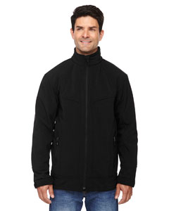 Black 703 Men's Three-Layer Light Bonded Soft Shell Jacket