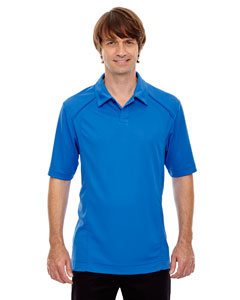 Lt Naut Blu 417 Men's Recycled Polyester Performance Piqué Polo