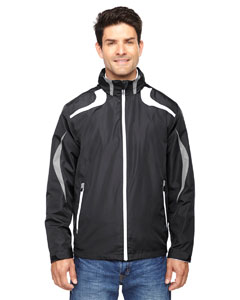 Black 703 Men's Impact Active Lite Colorblock Jacket