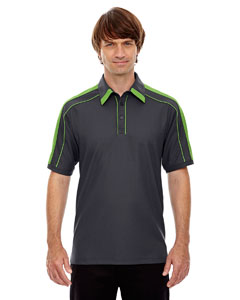 Bk Slk/ad Gn 440 Men's Sonic Performance Polyester Piqué Polo