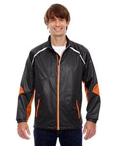 Black/mndrn 454 Men's Dynamo Three-Layer Lightweight Bonded Performance Hybrid Jacket