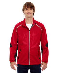 Olympic Red 665 Men's Dynamo Three-Layer Lightweight Bonded Performance Hybrid Jacket