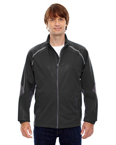 Black 703 Men's Dynamo Three-Layer Lightweight Bonded Performance Hybrid Jacket