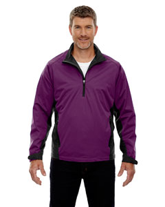 Mulb/prpl 449 Men's Paragon Laminated Performance Stretch Wind Shirt