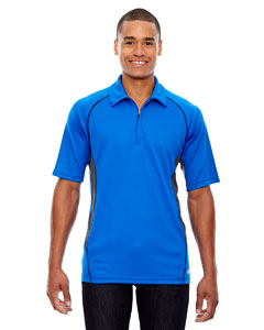 Olympic Blue 447 Men's Serac UTK cool.logik™ Performance Zippered Polo