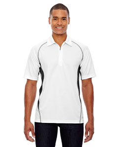 White 701 Men's Serac UTK cool.logik™ Performance Zippered Polo