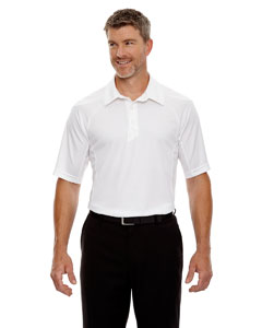 White 701 Men's Dolomite UTK cool.logik™ Performance Polo