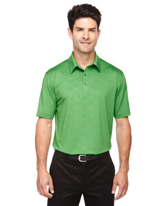 Valley Green 448 Men's Maze Performance Stretch Embossed Print Polo