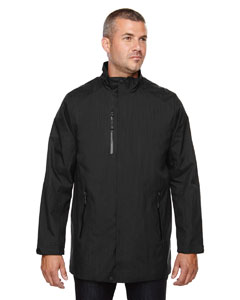 Black 703 Men's Metropolitan Lightweight City Length Jacket