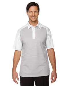 Crystl Qrtz 695 Men's Symmetry UTK cool.logik™ Coffee Performance Polo