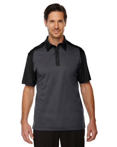 Black 703 Men's Symmetry UTK cool.logik™ Coffee Performance Polo