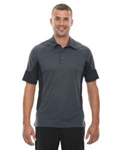 Carbon 456 Men's Refresh UTK cool.logik™ Coffee Performance Mélange Jersey Polo