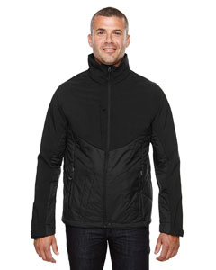 Black 703 Men's Innovate Insulated Hybrid Soft Shell Jacket