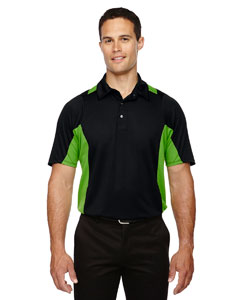 Blk/acid Grn 453 Men's Rotate UTK cool.logik™ Quick Dry Performance Polo