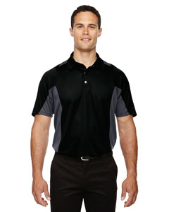 Black 703 Men's Rotate UTK cool.logik™ Quick Dry Performance Polo