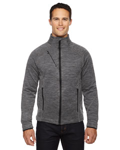 Carbon 456 Men's Flux Mélange Bonded Fleece Jacket