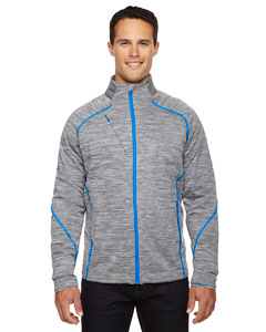 Platinum 837 Men's Flux Mélange Bonded Fleece Jacket