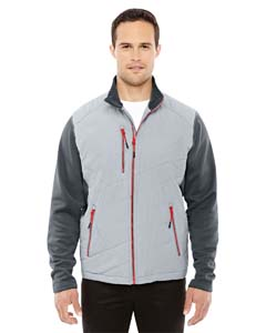 Platnm/ Crbn 837 Men's Quantum Interactive Hybrid Insulated Jacket