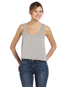 Athletic Heather Women's Flowy Boxy Tank