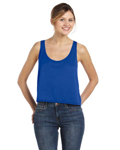 True Royal Women's Flowy Boxy Tank