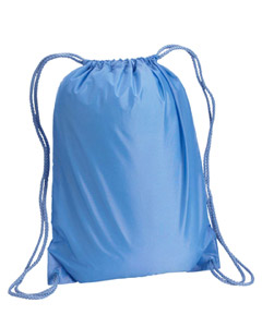 Light Blue Boston Drawstring Backpack