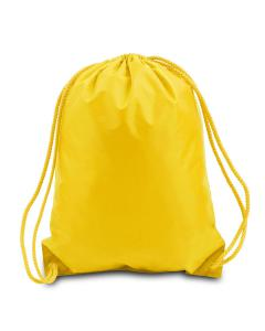 Golden Yellow Boston Drawstring Backpack