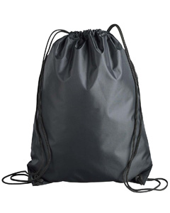 Black Value Drawstring Backpack